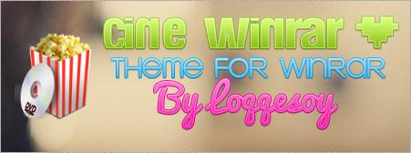 Cine WinRAR theme for WinRAR by Loqqesoy