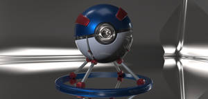 Great Ball with Animated Lighting