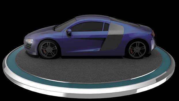 Audi R8 Turntable
