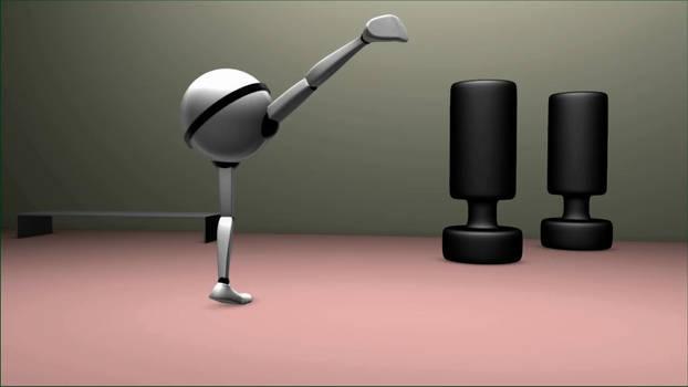 Animation Final: Spin Hook Kick