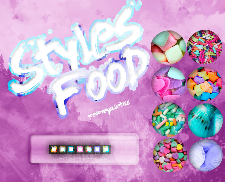 Styles FOOD - YoeComeGalletas