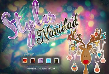 Styles Navidad - YoeComeGalletas