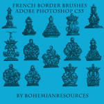 French Border Brushes