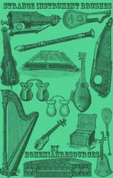 Strange Instrument Brushes