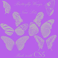 Butterfly Wings Brushes