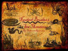 Nautical Brushes2: Sea Monsters