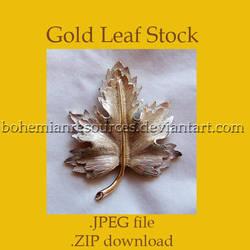 Gold Leaf Stock