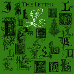 Letter L Brushes by BohemianResources DEVART
