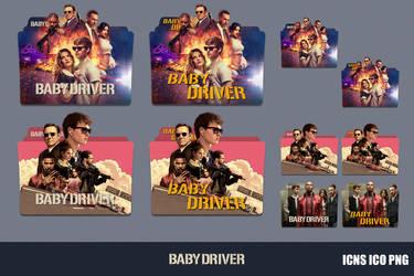 Baby Driver (2017) Folder Icon Pack by GERALDMCGREW