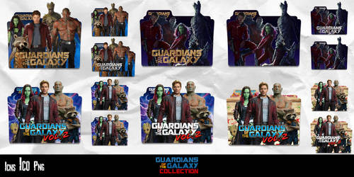 Guardians of the Galaxy Collection Icon Pack by GERALDMCGREW