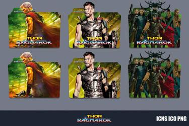 Thor Ragnarok (2017) Folder Icon Pack by GERALDMCGREW