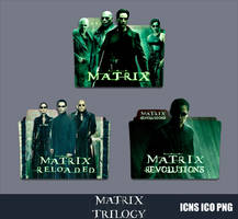 The Matrix Collection Folder Icon Pack by GERALDMCGREW