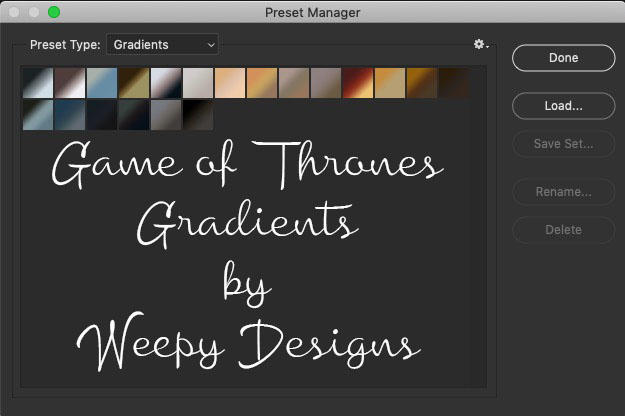 Game of Thrones by Weepy Designs