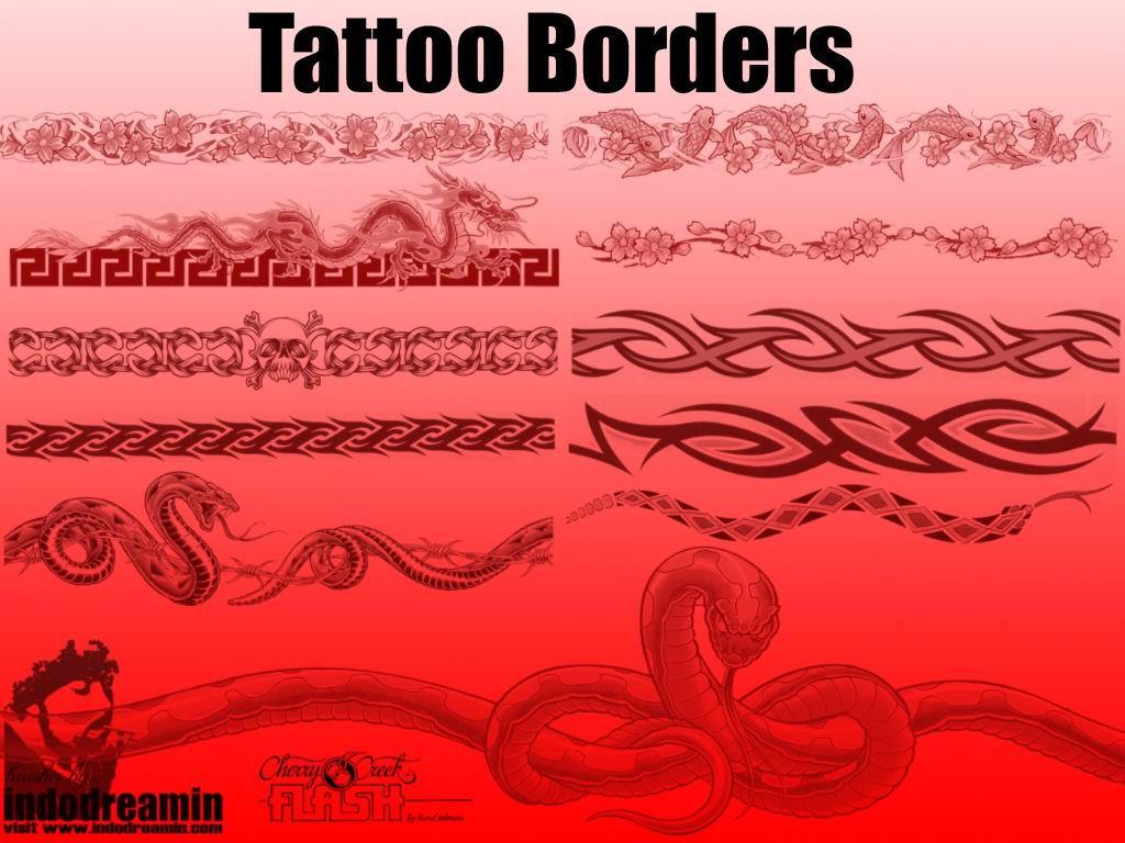 Tattoo Borders by indodreamin