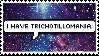 Trichotillomania Stamp by Twinkliest