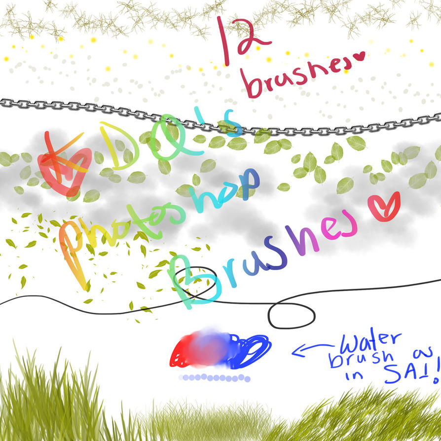 KDQ brushes set by pikinipiki