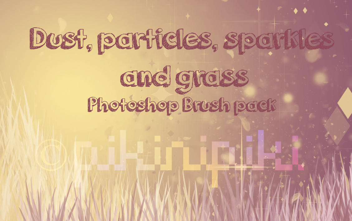 Photoshop Brush pack F2U by pikinipiki