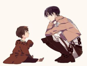 Levi x Reader - the fatherly role (au!) by pumpkin-milk on DeviantArt