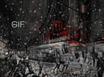 Snowing in Helsinki (animation) by agevla77