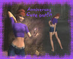 Anniversary cute outfit