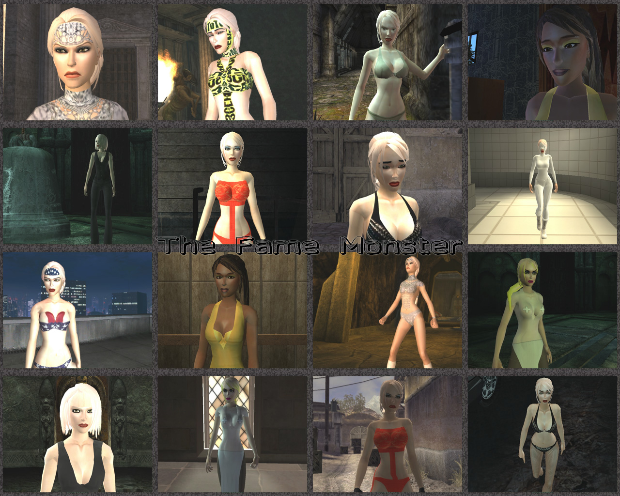The Fame Monster outfits by Badty92