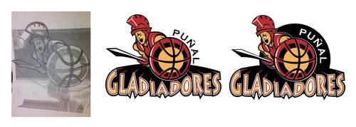 Gladiadores logo by juanikitoex