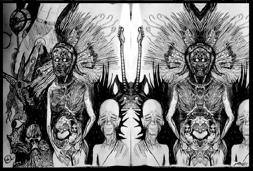 The Many Births of the Gorgon by JOHNNYFB