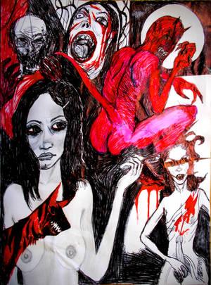 A Broken Window in Hell by JOHNNYFB