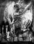 A Witch Burning In the Old Country by JOHNNYFB