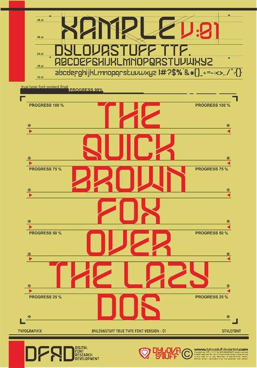 dylovastuff ttf  V 01 by dylovastuff Typography Inspiration: Text Art from DeviantART