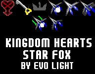 kingdom hearts+Star fox cursor by evolvd-studios
