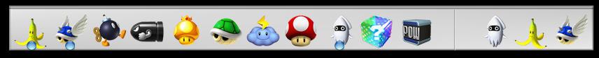 Mario Kart Wii objectdock by ashweez