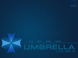 Umbrella Corp UI -PSD- by A88Huff