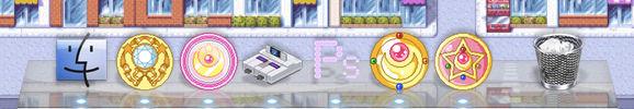Pastel Macintosh Dock/Desktop Icons Collection (1)