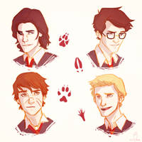 The Marauders by vvivaa