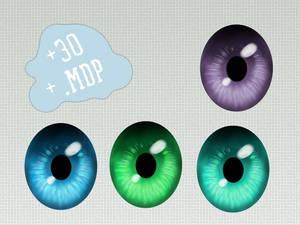 MMD Eye pack ~Shine~