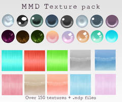 MMD Texture pack (hair + eye) by Relomi