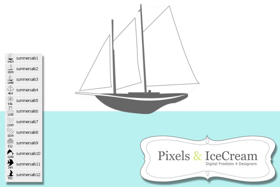Summer Sails by pixelsandicecream