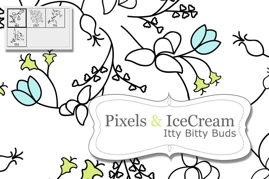 IttyBittyBuds by pixelsandicecream