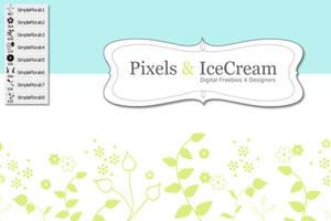 Simple Florals by pixelsandicecream