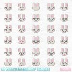 Free Emoticon Bunny