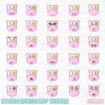 Free Emoticon Cow