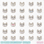 Free Emoticons Panda