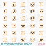 Free Emoticons Toast