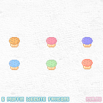 Muffin Favicons by apparate