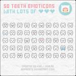 Emoticons: Teeth