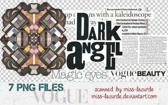 Vogue Mag. PNG