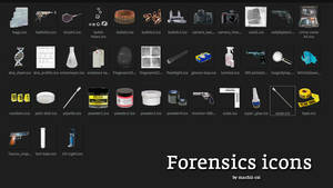 Forensics icons