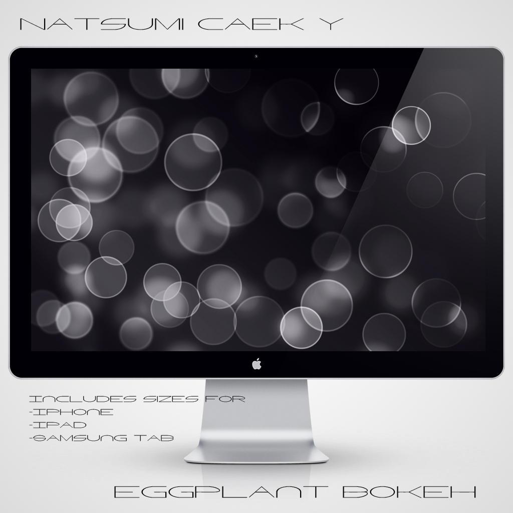 Eggplant Bokeh by Natsum-i