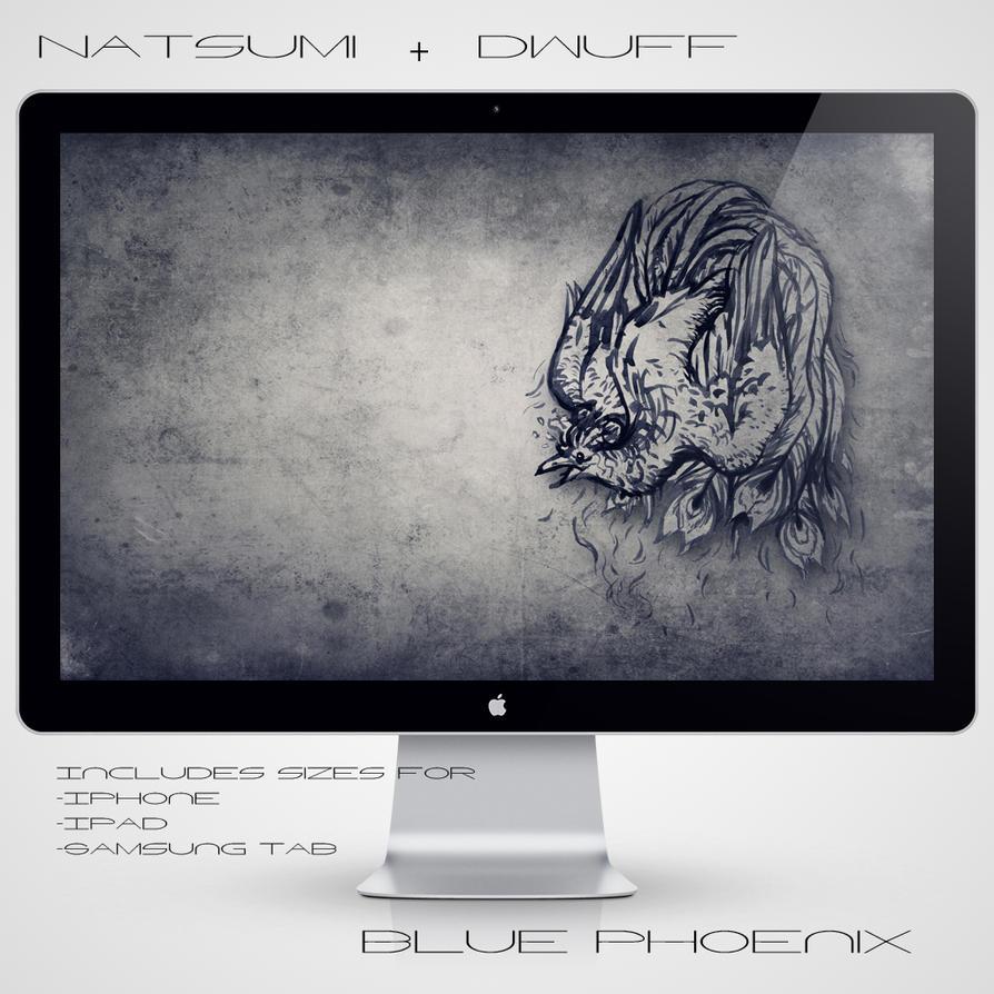 Blue Phoenix by Natsum-i